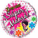 "SUPER MAMA Metalizado 18"" Cód. 18-0019"