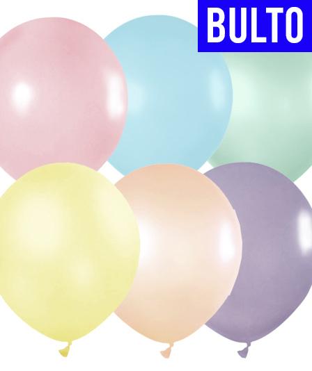GLOBOS TUKY PASTEL POR BULTO Calidad Profesional 9″| Multicolor