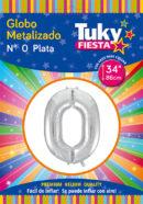 """34"""" Numero 0 – Metalizado x 5 Unidades"""