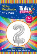 """34"""" Numero 2 – Metalizado x 5 Unidades"""