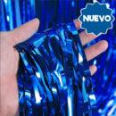 Cortina Metalizada Azul 2x1mts
