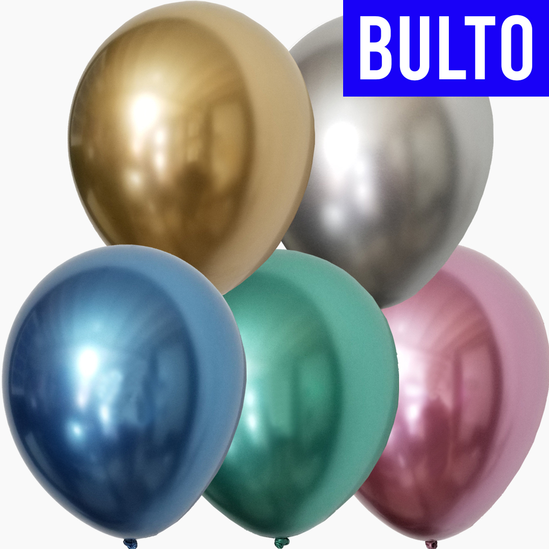 GLOBOS TUKY CHROME Calidad Profesional | MULTICOLOR