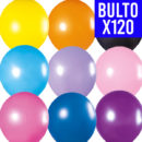 GLOBOS TUKY Profesional POR BULTO de 120 | 9″ MULTICOLOR