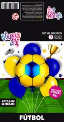 SET Futbol Azul y Amarillo