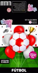 SET Futbol Rojo y Blanco