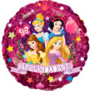 PRINCESAS Disney 9″ metalizado
