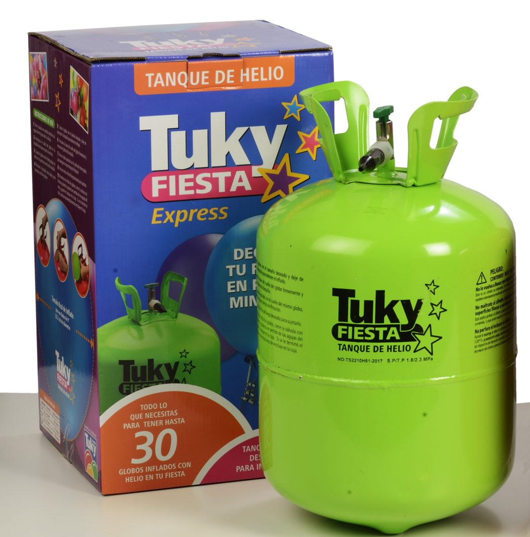 Garrafa de Helio TUKY Fiesta G30