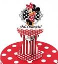 Adorno para torta Minnie Rojo
