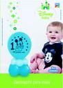 Kit Decoracion con Globos Para Mesa Disney Baby 1 Añito