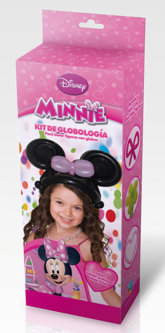 KIT GLOBOLOGIA MINNIE