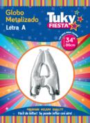 "34"" LETRA A – Metalizado x 5 Unidades"