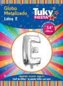 "34"" LETRA E – Metalizado x 5 Unidades"