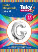 "34"" LETRA G – Metalizado x 5 Unidades"