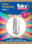 """34"""" LETRA I – Metalizado x 5 Unidades"""