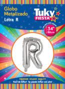 """34"""" LETRA R – Metalizado x 5 Unidades"""