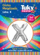 """34"""" LETRA X – Metalizado x 5 Unidades"""
