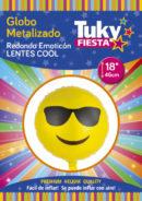 Emoji Lentes 18″ Tuky Metalizado x 5.