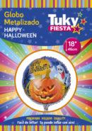 Halloween 18″ Tuky Metalizado x 5 u.