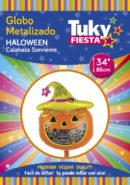 Halloween Calabaza 34″ Tuky Metalizado x 5 u.