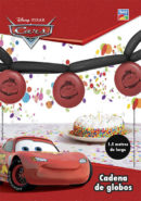 Kit Cadena de Globos Largos 350T Cars