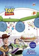 Kit Cadena de Globos Largos 350T Toy Story