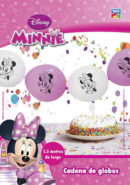 Kit Cadena de Globos Link Minnie