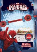Kit Globos Banner con mensaje (350T) Spiderman