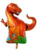 Dinosaurio T-Rex Metalizado 40″ x1 unidad