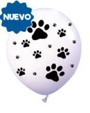 360º Impresion TOTAL 12″ | Huellitas blanco con negro
