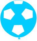 PIÑATA FESTIBALL | FUTBOL GAJOS CELESTE C/BLANCO
